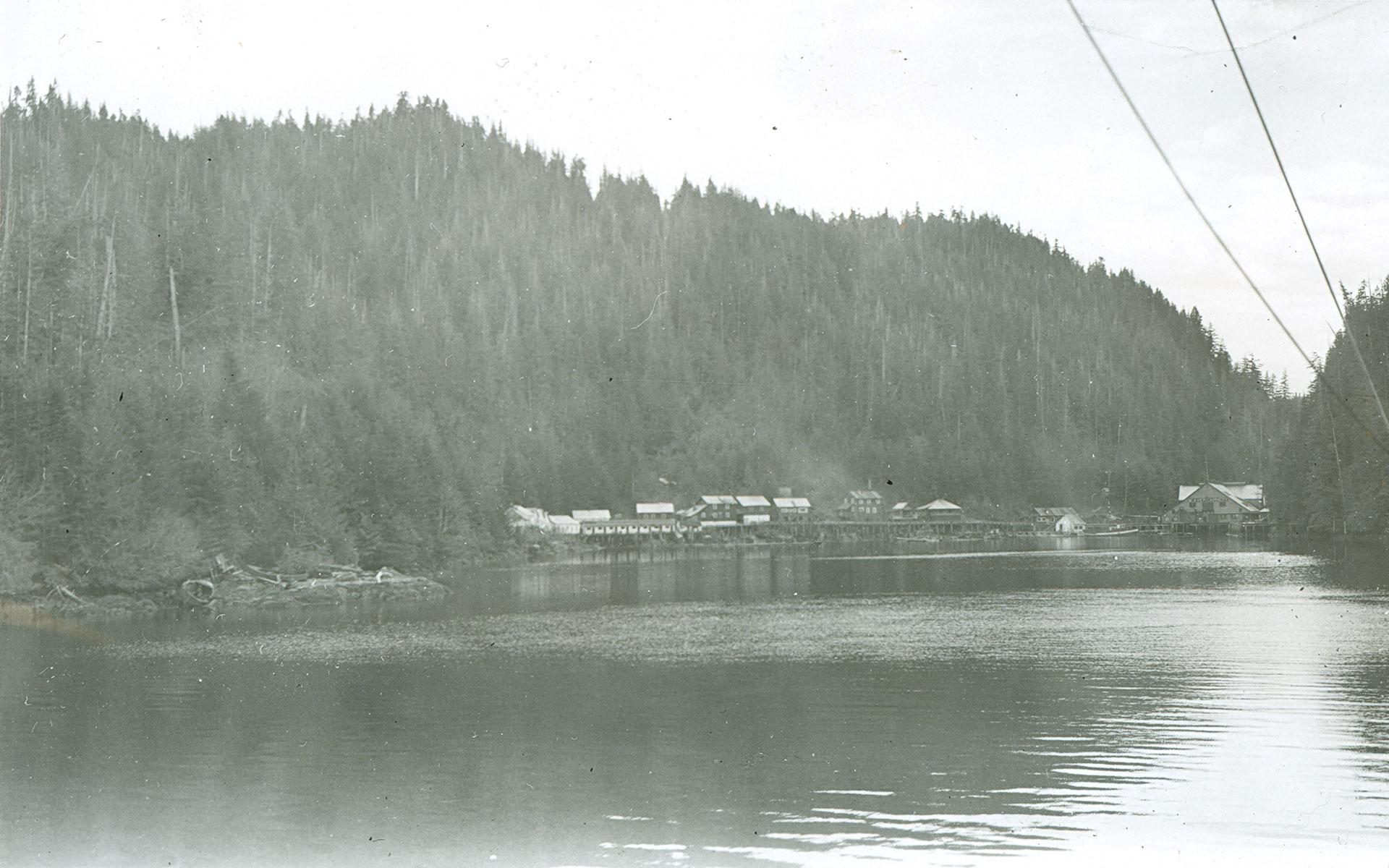 Beaver Cannery and landscape